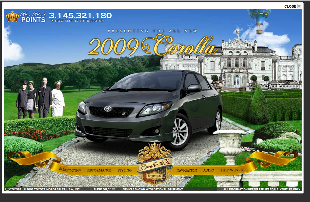 Corolla Website :: Estate
